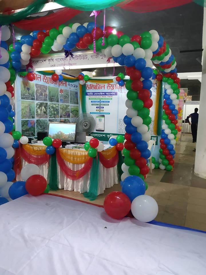 বাংলাদেশ শিল্পকলা একাডেমিতে অনুষ্ঠিত ডিজিটাল উদ্ভাবনী মেলা-২০১৮